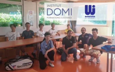Partenariat entre la Wawrinka Academy et l'Institut-Domi